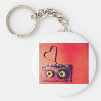 valentinesday basic round button keychain