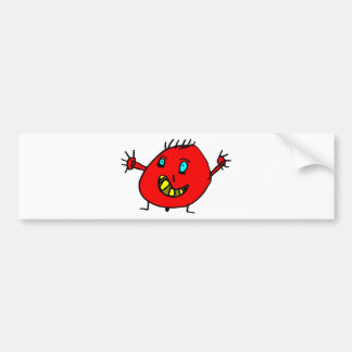 Valérian the nice monster - Axel City Bumper Sticker