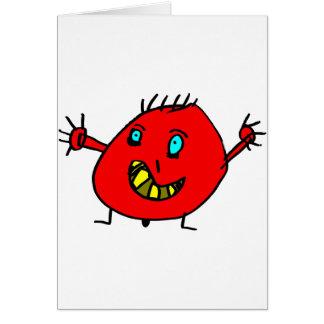 Valérian the nice monster - Axel City Card