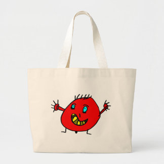 Valérian the nice monster - Axel City Large Tote Bag