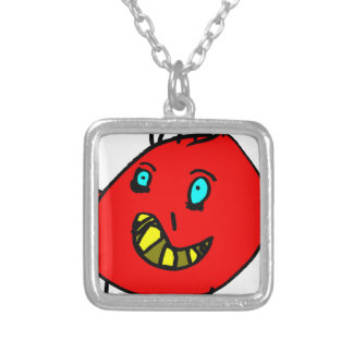 Valérian the nice monster - Axel City Silver Plated Necklace
