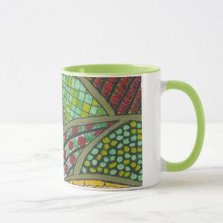 Valerie Riveras Abstract Hills Mug