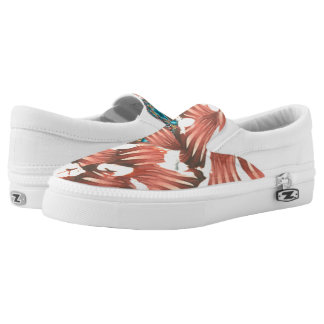 Valerie Riveras Rhodes Abstract Challenge Slip-On Sneakers