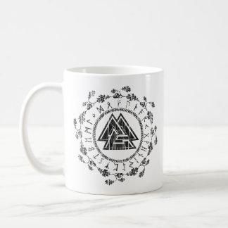 Valknut - Runes - 9 Noble Virtues Mug
