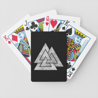 Valknut Viking Design Bicycle Playing Cards
