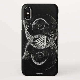 Valknut - Viking's raising iPhone X Case