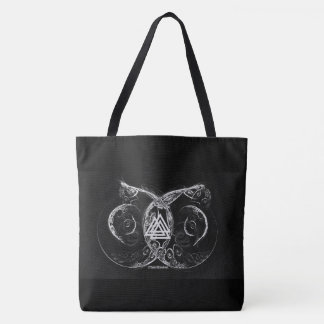 Valknut - Viking's raising Tote Bag
