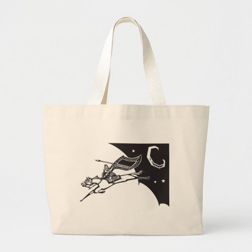 Valkyrie in Sky Canvas Bag