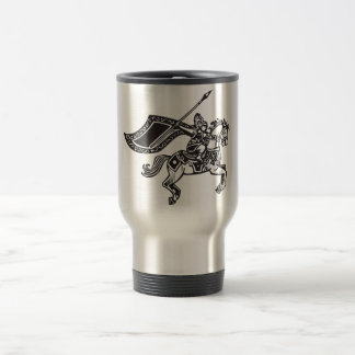 Valkyrie on Horse Stainless Steel Travel Mug