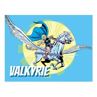 Valkyrie Riding Aragorn Postcard