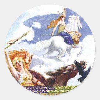 Valkyries Classic Round Sticker