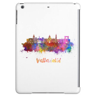 Valladolid skyline in watercolor iPad air covers