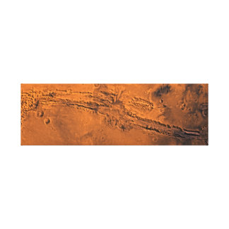 Valles Marineris Mariner Valley Mars Canvas Print