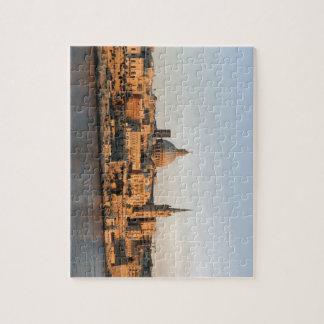 Valletta, Malta at dusk Jigsaw Puzzle