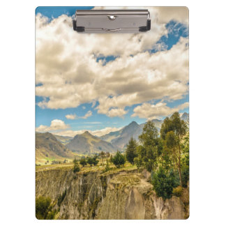 Valley and Andes Range Mountains Latacunga Ecuador Clipboard