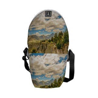 Valley and Andes Range Mountains Latacunga Ecuador Courier Bags