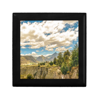 Valley and Andes Range Mountains Latacunga Ecuador Gift Box