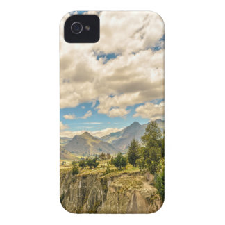 Valley and Andes Range Mountains Latacunga Ecuador iPhone 4 Case-Mate Case