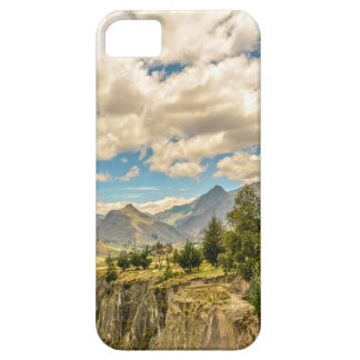 Valley and Andes Range Mountains Latacunga Ecuador iPhone 5 Cover