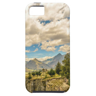 Valley and Andes Range Mountains Latacunga Ecuador iPhone 5 Covers