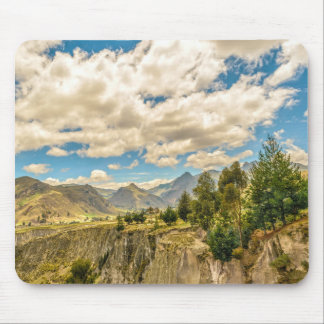 Valley and Andes Range Mountains Latacunga Ecuador Mouse Pad