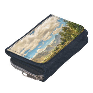 Valley and Andes Range Mountains Latacunga Ecuador Wallet