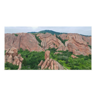 Valley and Rock Formations at Roxborough Card