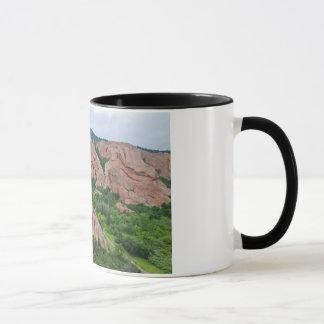 Valley and Rock Formations at Roxborough Mug