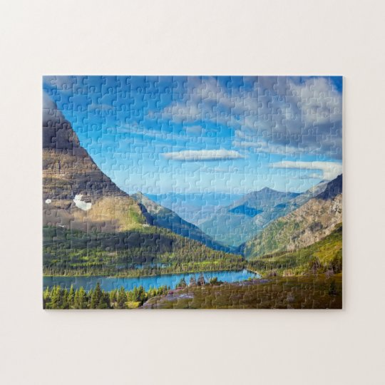 Valley Beyond Jigsaw Puzzle