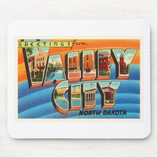 Valley City North Dakota ND Old Travel Souvenir Mouse Pad