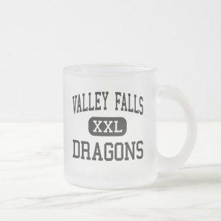 Valley Falls - Dragons - High - Valley Falls 10 Oz Frosted Glass Coffee Mug