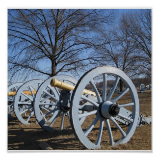 Valley Forge, PA Cannon Poster