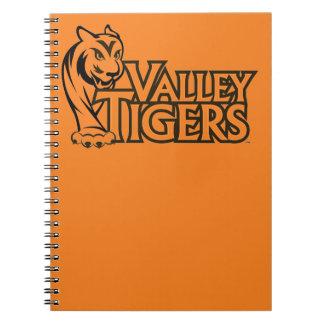Valley High School Tigers Notebooks