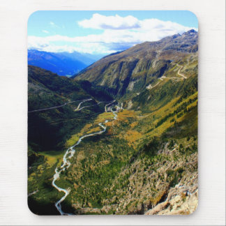 Valley in Switzerland Mouse Pad