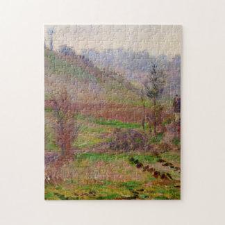 Valley of Falaise Monet Fine Art Jigsaw Puzzle