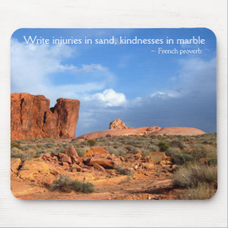 Valley of Fire Desert Landscapes Mouse Pad