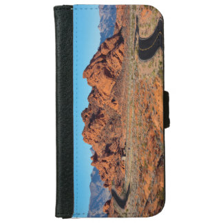 Valley of Fire iPhone 6 Wallet Case