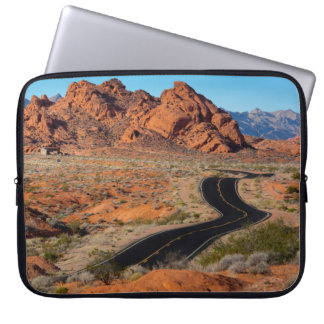 Valley of Fire Laptop Sleeve