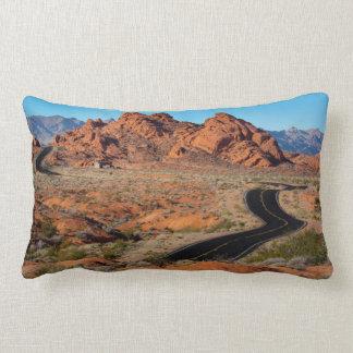 Valley of Fire Lumbar Pillow