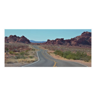 Valley of Fire Roadway Poster