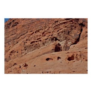 Valley of Fire Rock Fomations Poster