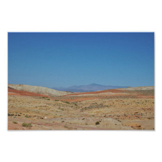 Valley of Fire Rock Formations Poster