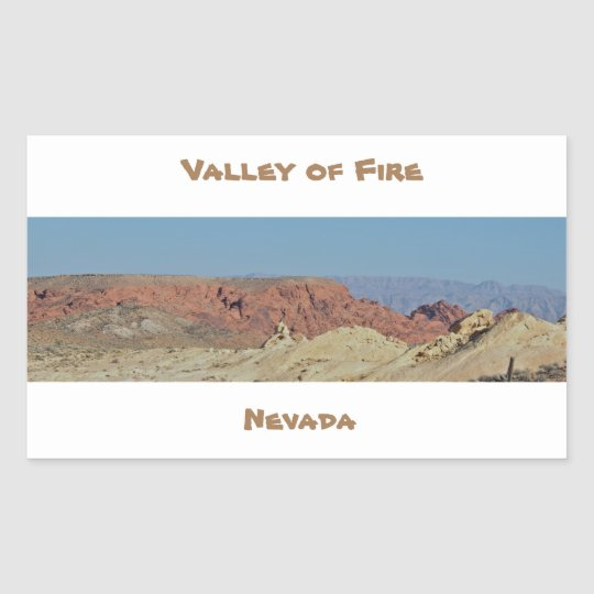 Valley of Fire Rock Formations Sticker