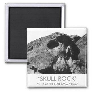 Valley of Fire Skull Rock Magnet