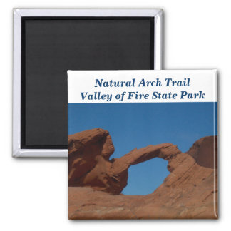 Valley of Fire State Park Arch Magnet