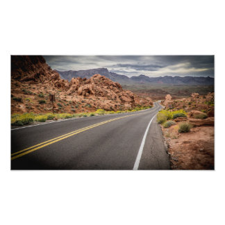 Valley of Fire State Park - Nevada Poster