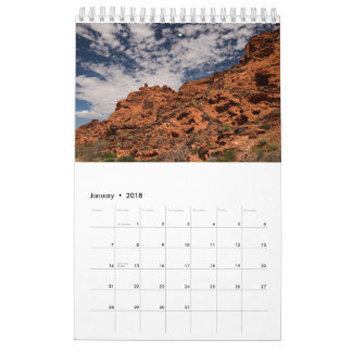 Valley of Fire Wall Calendars