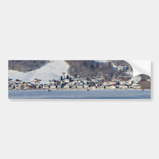 valley of joux and lake bumper sticker