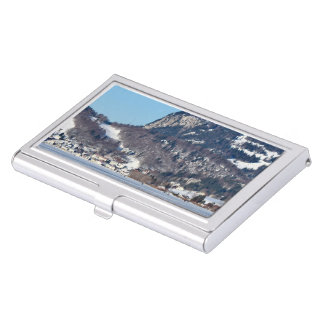 valley of joux and lake business card holder