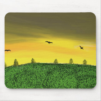 Valley of the fur trees mouse pad